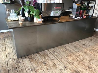 Cafeindretning - Klemme Design